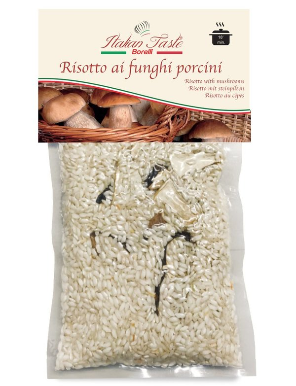 Risotto with mushrooms - 300 g