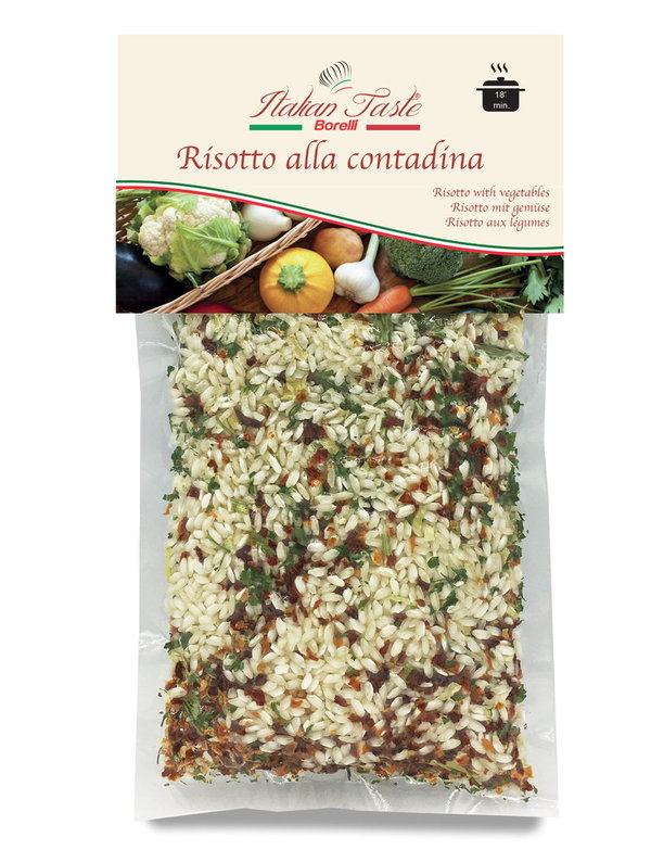 Risotto with vegetables - 300 g