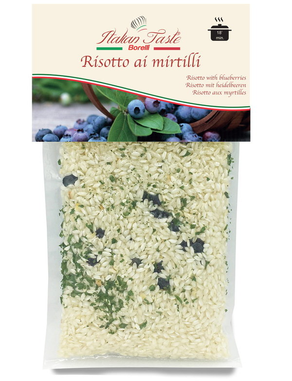 Risotto with blueberries - 300 g