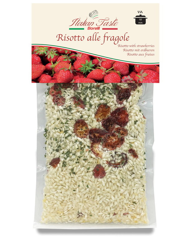 Risotto with strawberries - 300 g